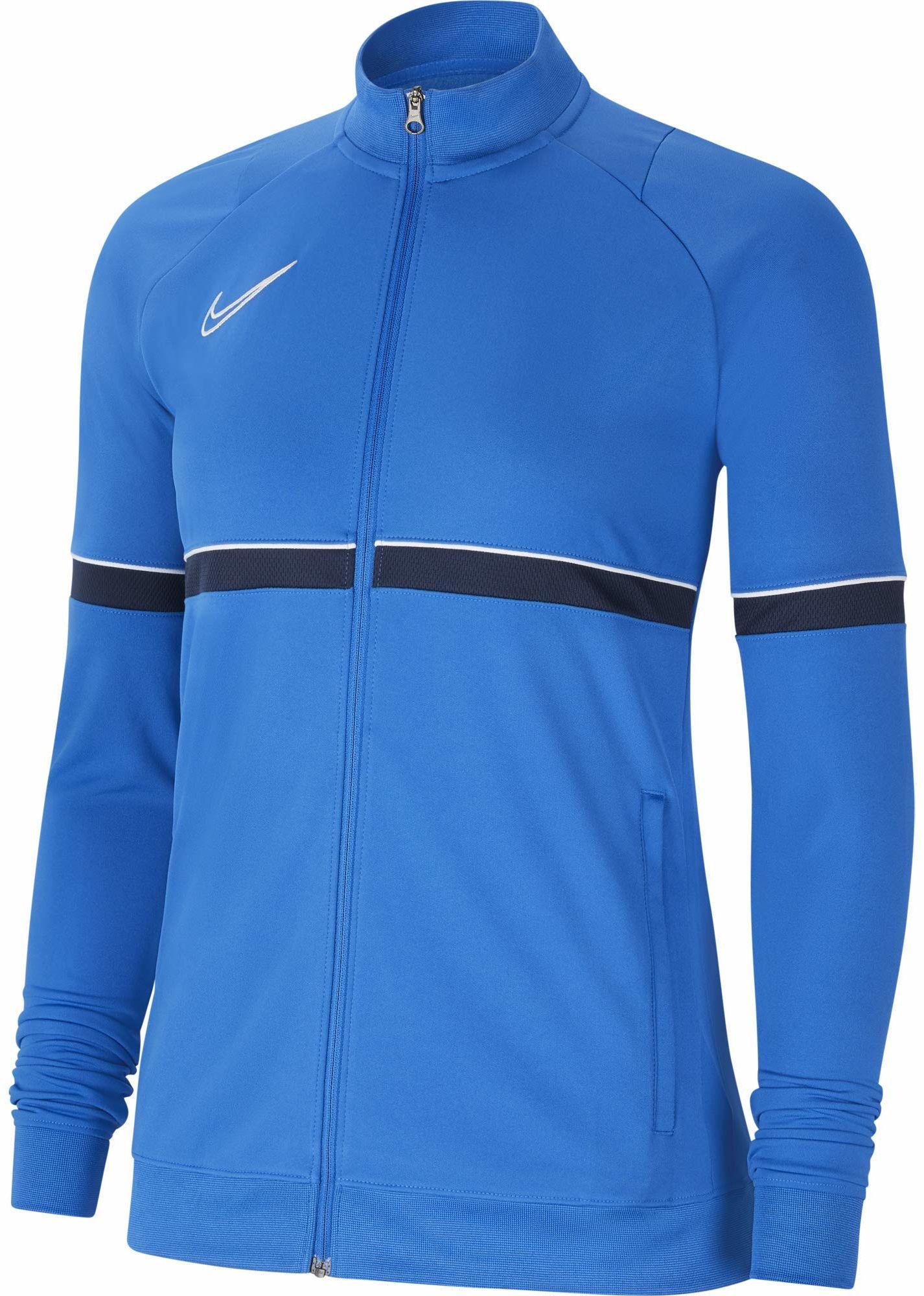 Nike Damska kurtka damska Academy 21 Track Jacket Królewski niebieski/biały/obsydian/biały XL