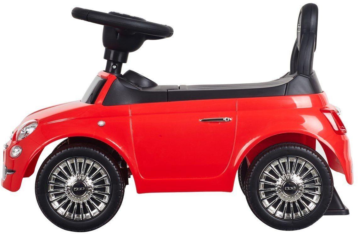 Jeździk Fiat 500 - Corallo czerwony Sun Baby
