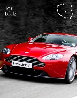 Jazda za kierownicą Aston Martina Vantage  Tor Łódź