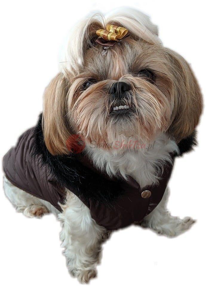 Ręcznie szyta kurtka exclusive brąz