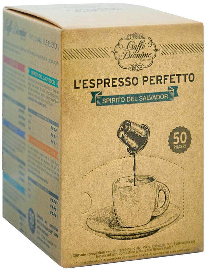 Diemme Spirito del Salvador Nespresso 50 kapsułek