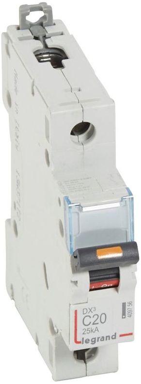 Wyłącznik nadprądowy 1P C 20A 25kA S321 DX3 409756