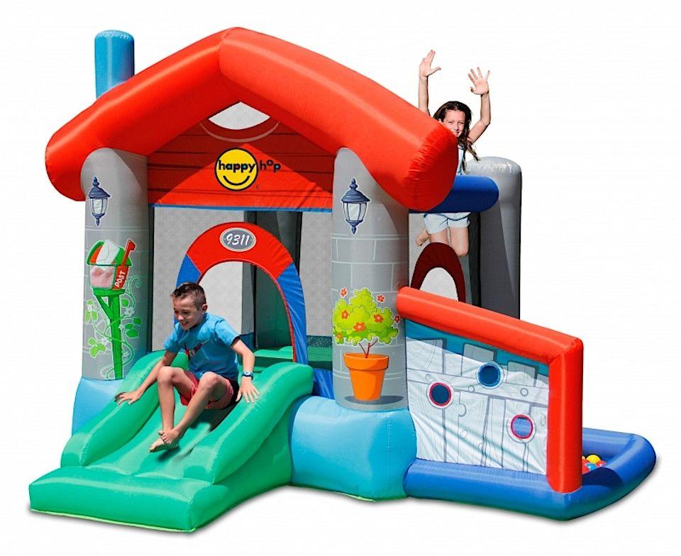 HappyHop - Dmuchany domek ze zjeżdżalnią - Party House