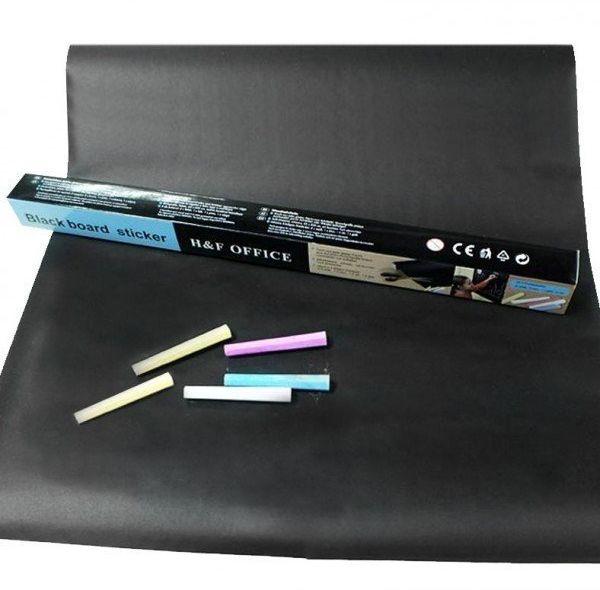 Tablica kredowa samoprzylepna + kreda 45x200cm 1 sztuka TK200