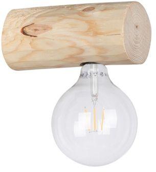 Spot Light 6994150 Trabo Simple kinkiet lampa ścienna belka sosna naturalna/czarny 1xE27 25W 20cm