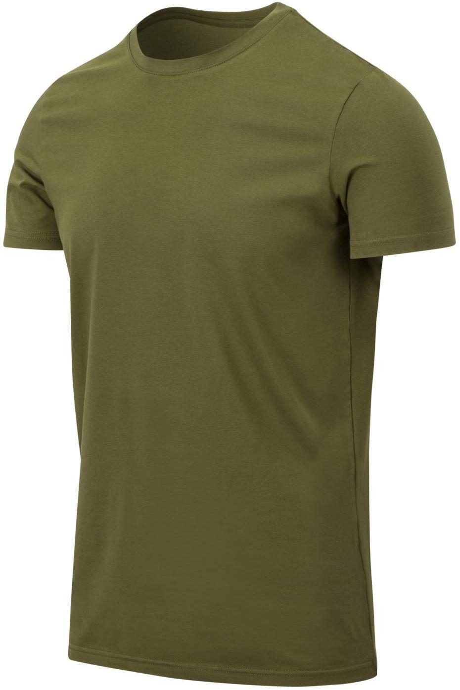 Koszulka T-Shirt Helikon Slim US Green (TS-TSS-CC-29) H