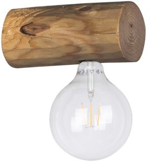 Spot Light 6994151 Trabo Simple kinkiet lampa ścienna belka sosna bejcowana/czarny 1xE27 25W 20cm