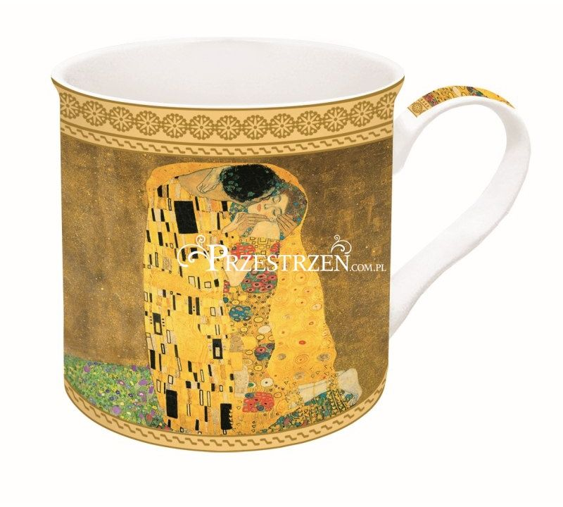 KUBEK PORCELANOWY - KLIMT - Pocałunek ART MASTERPIECE COLLECTION
