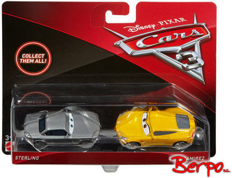 Mattel - Auta 3 Cars - Sterling i Cruz Ramirez DXW02 DXV99