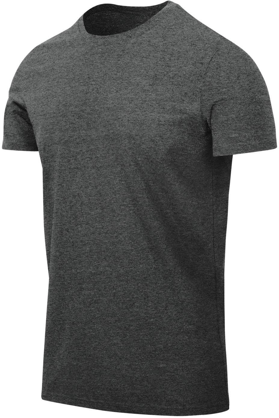 Koszulka T-Shirt Helikon Slim Melange Black-Grey (TS-TSS-CC-M1) H