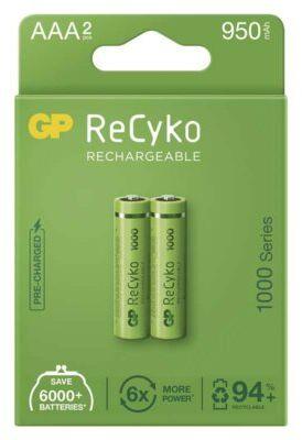 Akumulatory GP ReCyko AAA 950mAh 2szt.. > DARMOWA DOSTAWA ODBIÓR W 29 MIN DOGODNE RATY