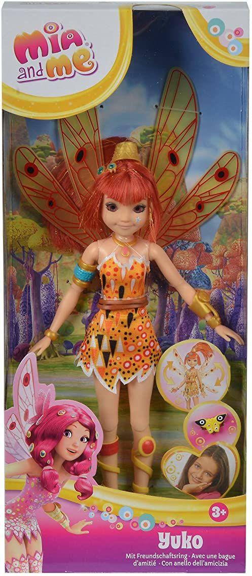 Simba 109480090  Mia and Me nowa lalka Yuko ze szklanymi oczami