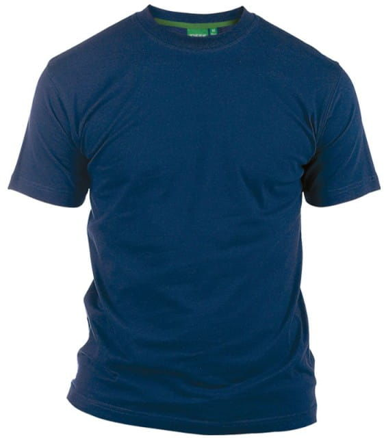FLYERS-D555 Duży T-shirt Granatowy