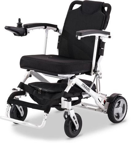 Ultralekki wózek elektryczny do użytku domowego i do poruszania po równych powierzchniach - łatwy w transporcie - kompaktowe wymiary, składana rama, d