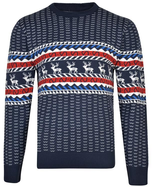 KAM X003 Duży Sweter Świąteczny