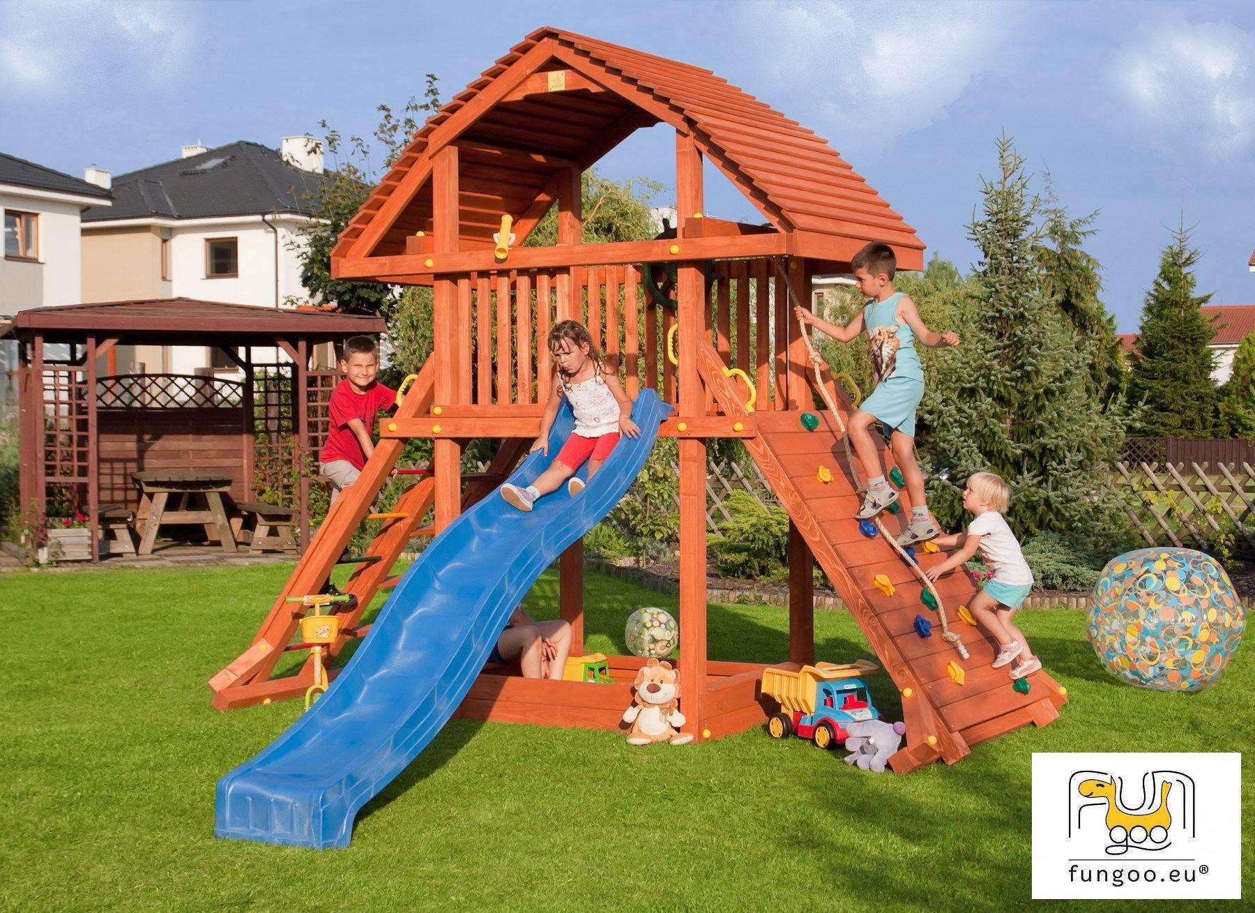 Wieża drewniana FUNGOO GIANT /teak/