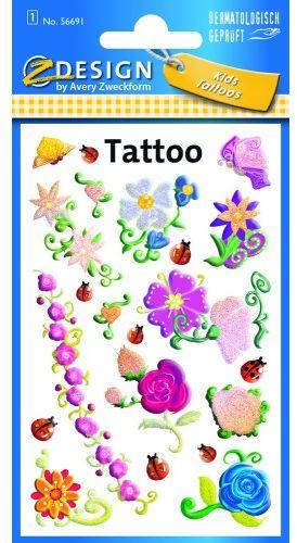 Tatuaże Z-Design - kwiaty