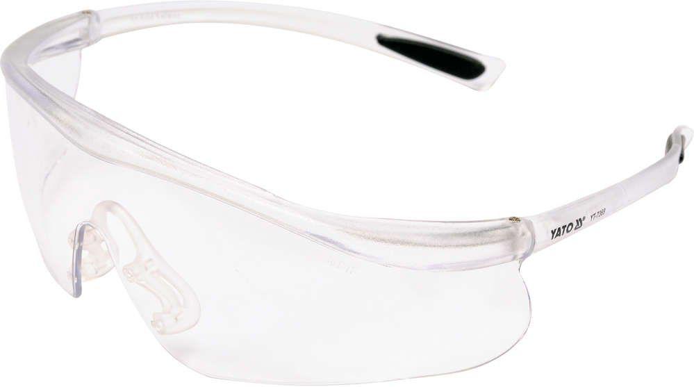 Okulary ochronne bezbarwne typ 91797 Yato YT-7369 - ZYSKAJ RABAT 30 ZŁ