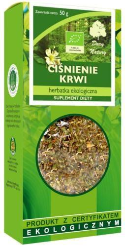 Herbatka CIŚNIENIE KRWI BIO 50g Dary Natury