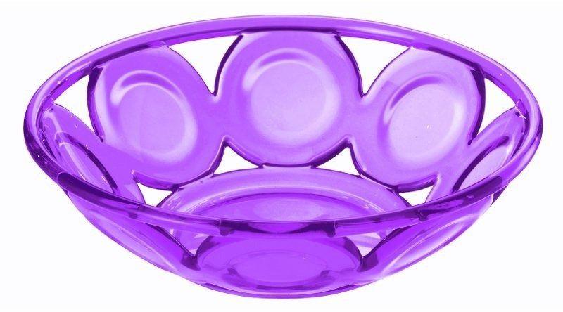 Guzzini - koszyk na pieczywo - bolli - fioletowy