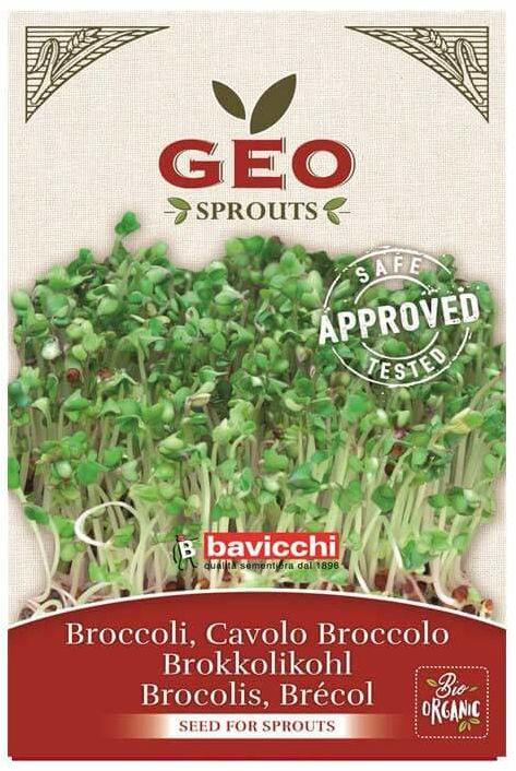 Bio nasiona na kiełki brokuła