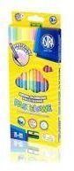 Kredki ołówkowe dwustronne pastelowe 12=24 ASTRA - ASTRA papiernicze