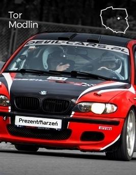 Jazda za kierownicą BMW M Power  Tor Modlin