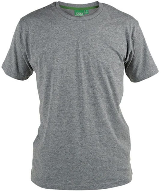 FLYERS-D555 Duży T-shirt Szary
