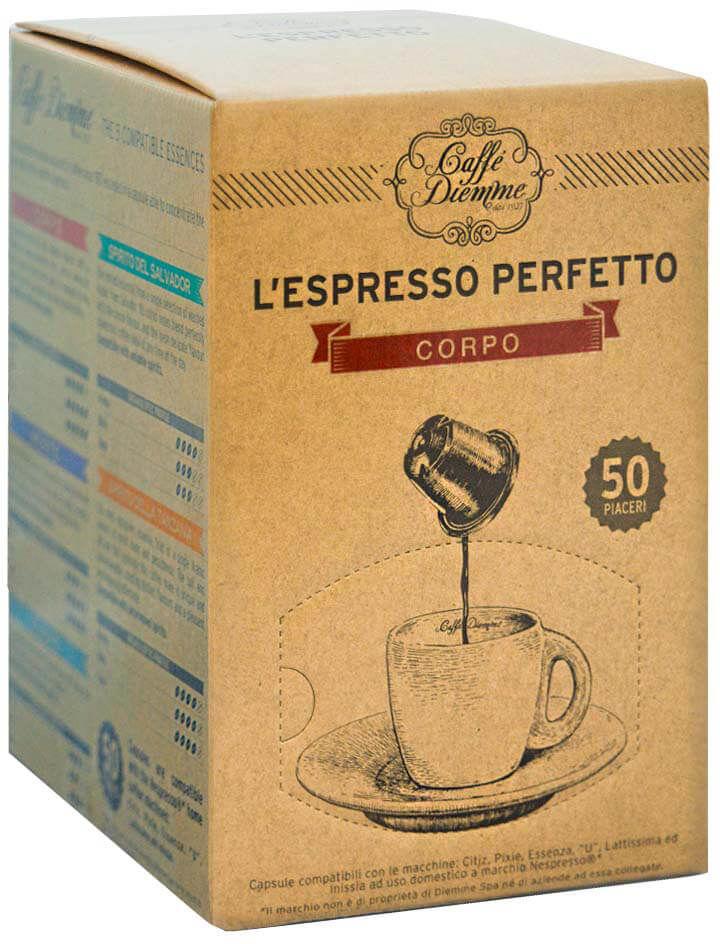 Diemme Corpo Nespresso 50 kapsułek