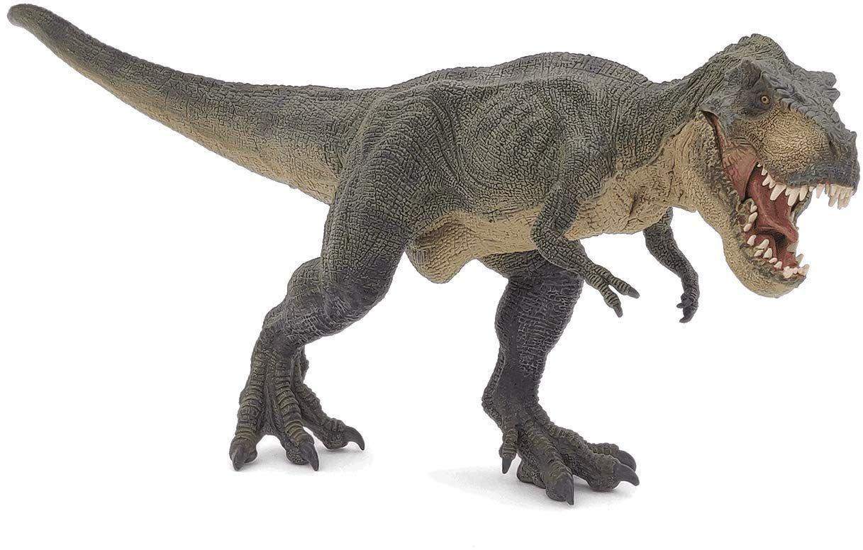 Papo 55027 - bieżący T-Rex, figurka do gry, zielona