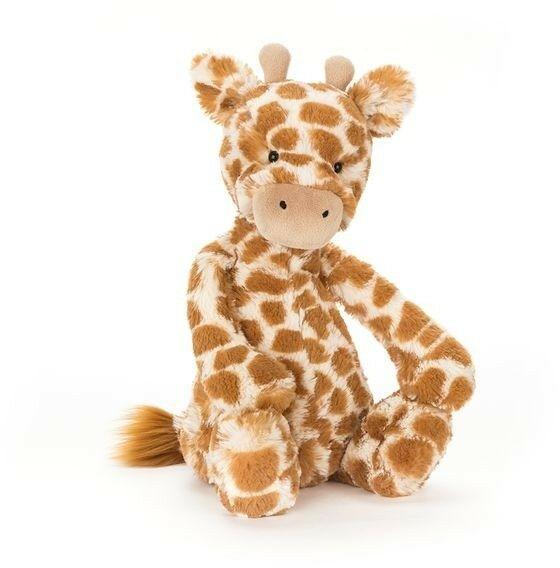 JellyCat - Przytulanka Maskotka Żyrafa 18cm