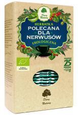 Herbatka DLA NERWUSÓW BIO (25 x 1,5g) Dary Natury