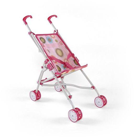 Wózeczek dla lalek Julka różowy
