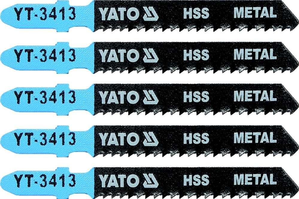 Brzeszczot do wyrzynarki typ t, 12 tpi, do metalu, 5 szt Yato YT-3413 - ZYSKAJ RABAT 30 ZŁ