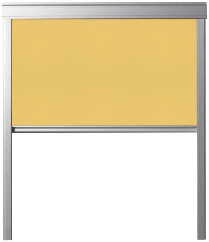 Roleta zaciemniająca DUR M6A 4233 Żółta 78 x 118 cm CONTRIO