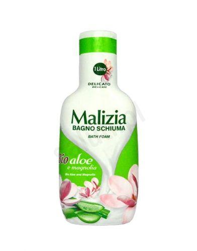 Malizia BIO Aloes i Magnolia - Płyn do kąpieli (1000 ml)