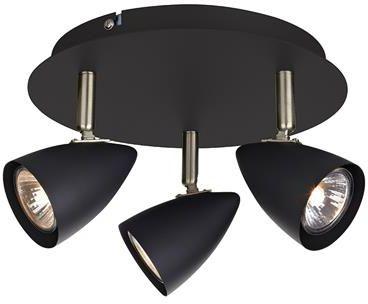 Plafon Ciro 107411 Markslojd nowoczesna oprawa w kolorze czarnym