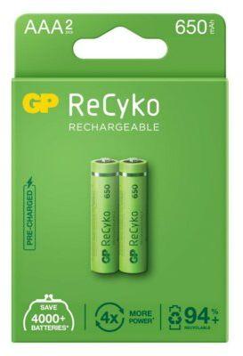 Akumulatory GP ReCyko AAA 650mAh 2szt.. > DARMOWA DOSTAWA ODBIÓR W 29 MIN DOGODNE RATY