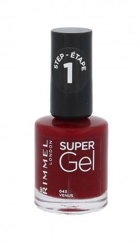 Rimmel London Super Gel STEP1 lakier do paznokci 12 ml dla kobiet 043 Venus