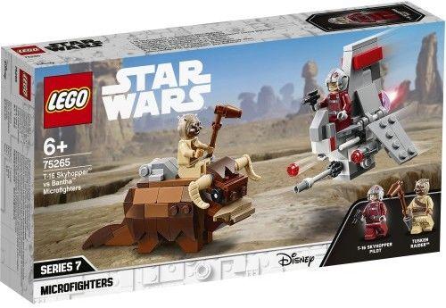 LEGO Star Wars 75265 T-16 Skyhopper kontra Mikromyśliwce Bantha
