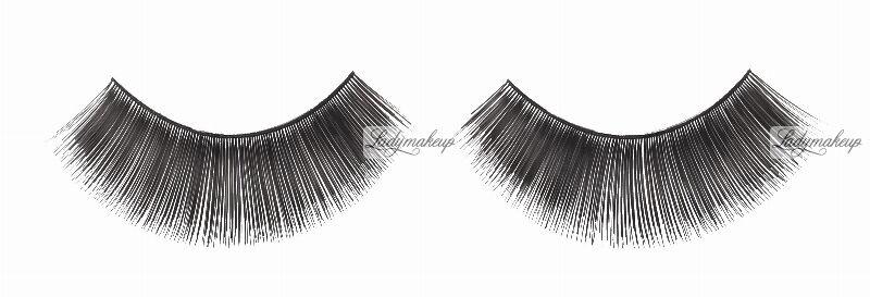 W7 - Flutter Eyes - False EyeLashes - Sztuczne rzęsy na pasku + klej - 01