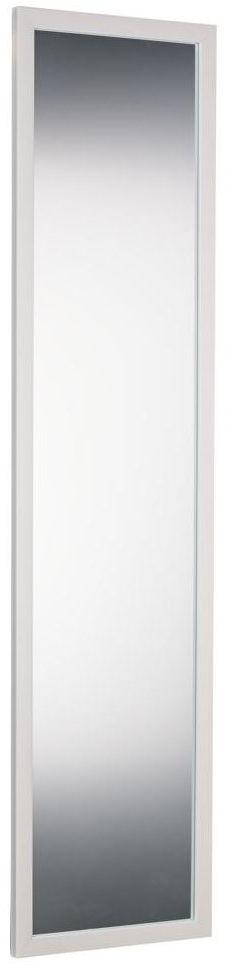 Lustro na drzwi Door białe 30 x 120 cm Inspire