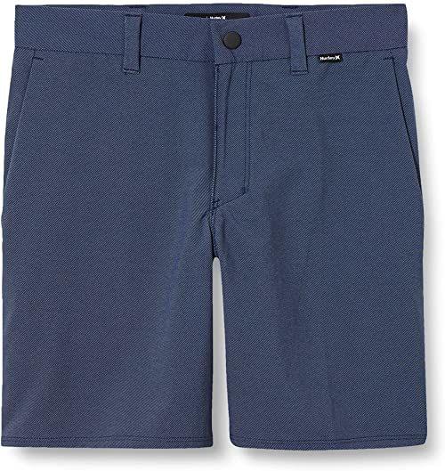 Hurley Chłopięce B Dri-fit krótkie krótkie spodnie typu chino 40 cm Obsydian 27