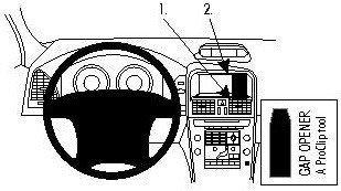 ProClip do Volvo XC60 09-17