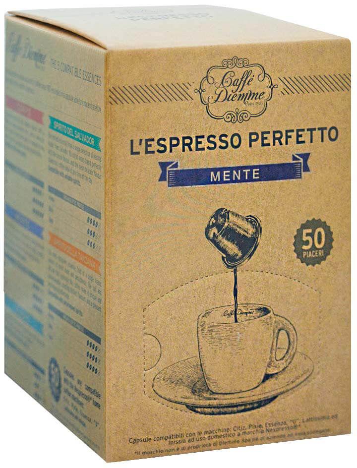 Diemme Mente Nespresso 50 kapsułek