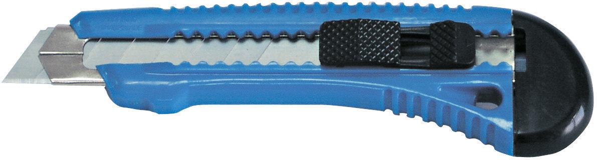 Nożyk, ostrze łamane 18mm, metalowa prowadnica