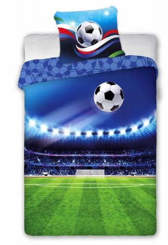 Faro Pościel bawełna 160x200 Piłka Nożna Boisko