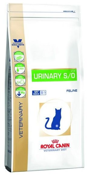 Royal Canin Veterinary Diet Feline Urinary S/O 1,5kg