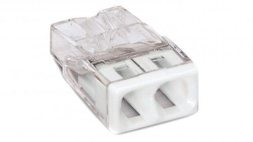 Szybkozłączka WAGO Compact 2 x 0,5-2,5 mm2 transparentna