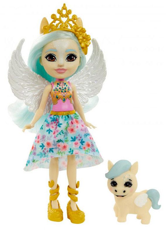 Enchantimals Lalka Paolina Pegasus i pegaz Wingley GYJ03